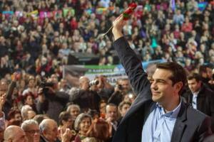 Main preelection rally of SYRIZA in Thessaloniki